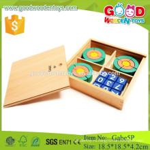Froebe 5p деревянный круг игрушки дошкольный gabe образовательные игрушки