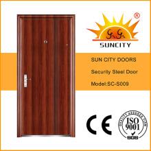 Дизайн заподлицо предохранительные металлические двери для Южной Америки (СК-S009)
