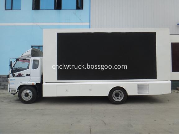 Mobile Advertising Truck 1