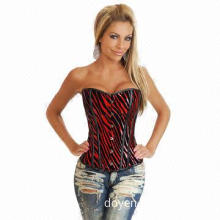 Newest Sexy Corset, Available in Deep Red