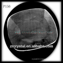 Magnifique récipient en cristal P156