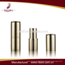 LI21-1 Boîte à lèvres à aimant en aluminium à meilleure vente, récipient à rouge à lèvres vide, récipient à lèvres mat