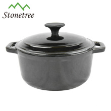 High Quality Healthy Red Round Cast Iron Casserole