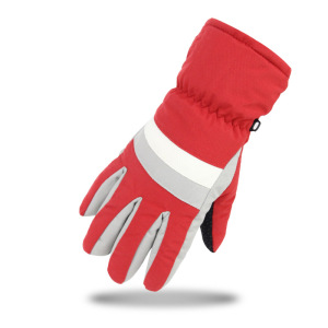Multicolor Mountain Climbing Ski Gloves