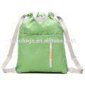 Drawstring Backpack Book Bag for School Children Kids Backpack