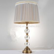 crystal desk lamp for bedroom decoration