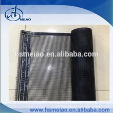 Black non-stick PTFE fiberglass mesh conveyor belt