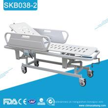 Trole de transferência paciente da emergência do hospital do metal SKB038-2