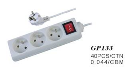 3 way socket power outlet
