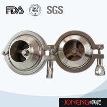 Stainless Steel Double Clamp Type Food Grade Check Valve (JN-NRV2008)