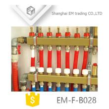 EM-F-B028 Colector de latón para sistema de calefacción