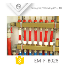 EM-F-B028 Brass manifold for heating system