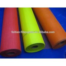 Toile de fibre de verre 120gr / m2 couleur orange
