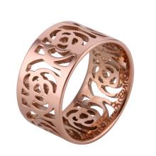 Anillo de la joyería del acero inoxidable de la manera de las mujeres (hdx1024)