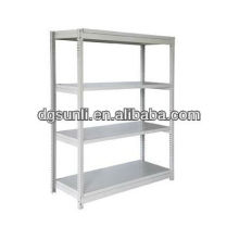 steel structure warehouse adjustable slotted angle shelving