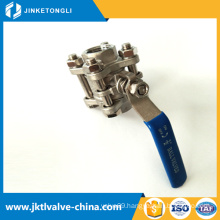 new products home use or industry save space GB thin wafer ball valve