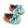 Mix Color Baby Cute Bow-knot Buty dziecięce