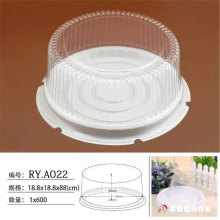 Custom shape Plastic Blister Box for Cake