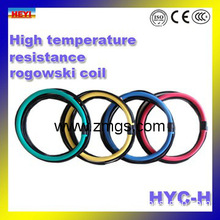 High Temperature Resistance rogowski coil HYC-H used in water or oil