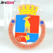Artigifts Badge Maker Al por mayor Barato Custom Metal Pin insignia con su propio diseño