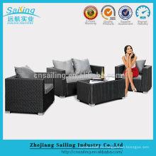 Популярная синтетическая дешевая мебель из ротанга