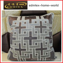 Embroidery Decorative Cushion Fashion Velvet Pillow (EDM0282)