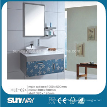 Bathroom Vanity Stainless Steel Ceramic Basin Bathroom Vanity
