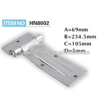 Stainless steel ratchet hinge