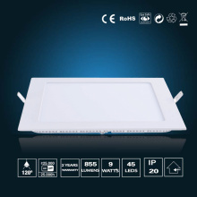 Luz de painel de LED 9W 150 * 150 * 16mm