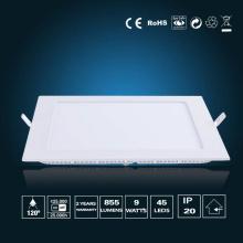 9W LED Panel Light 150*150*16mm