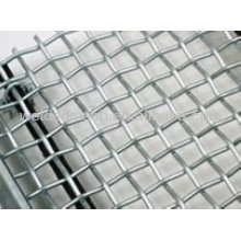 Crimped Wire Mesh Double Lock Weaving