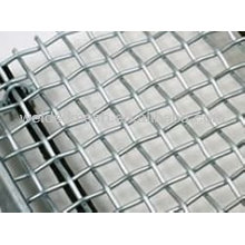 Construction Galvanized Crimped Wire Mesh