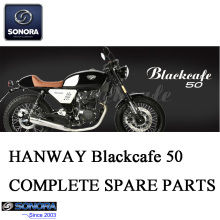 HANWAY Blackcafe50 Repuestos completos