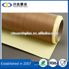 Best seller on Alibaba carton sealing high temperature ptfe tape USA Taconic tape teflon coated fiberglass for package machine