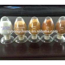 Poudre basique de chlorure de polyaluminium pour des eaux usées de lavage de charbon