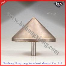 Round Sintered Diamond Drill Bit for Glass Countersink