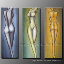 Beautiful Nude Oil Painting on Canvas for Decorative (FI-078)