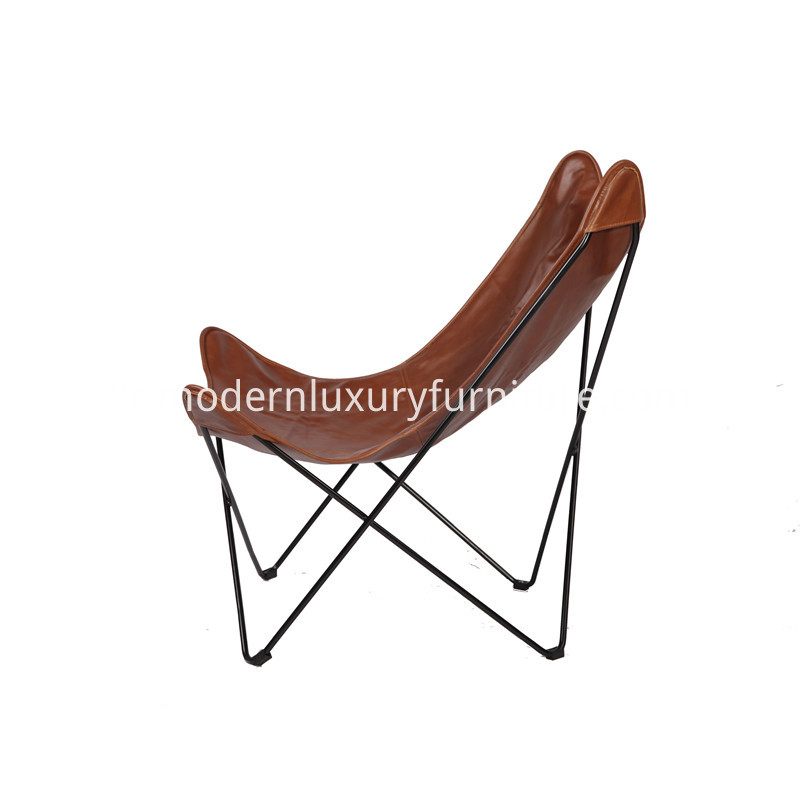Metal Frame Lounge Chair