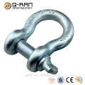 Galvanized drop forged screw pin anchor shackle 209