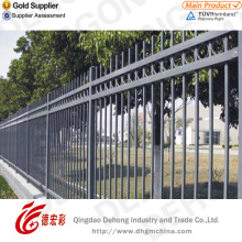 New Design Welded Galvanized and Powder Coated Wrought Iron Fence