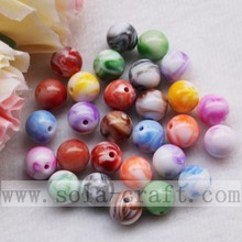 ODM for plastic pearl beads Noble Double Colored Jade Loose Beads for Necklace supply to Trinidad and Tobago Supplier