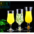 Creative transparent glass juice cup