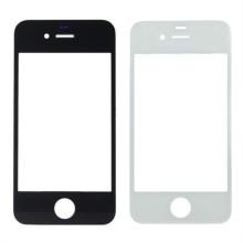 Pièces de vente directe GS Factory pour le panneau de verre avant iPhone 4