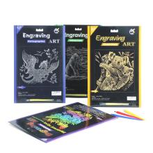 Magical Engraving Art Scratch Paper