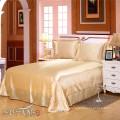 Juegos de ropa de cama de diseño de hotel / ropa de cama de lujo de seda sábanas de tacto sudafricano sudáfrica