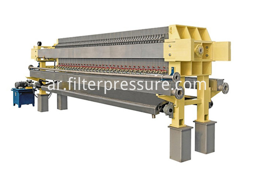 Low Water Filter Press