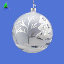 Christmas gifts frosted glass glitter ornament balls