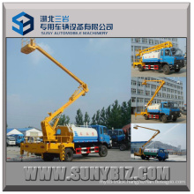 14m High-Altitude Working Aerial Ladder Truck with Water Tank