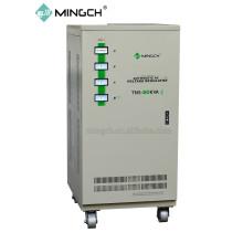 Настраиваемая серия Tns-80k с тремя фазами Полностью автоматический регулятор напряжения переменного тока / стабилизатор