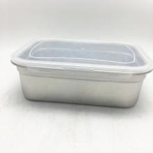 quadratischer Edelstahlkanister aus Metall für Lebensmittelqualität